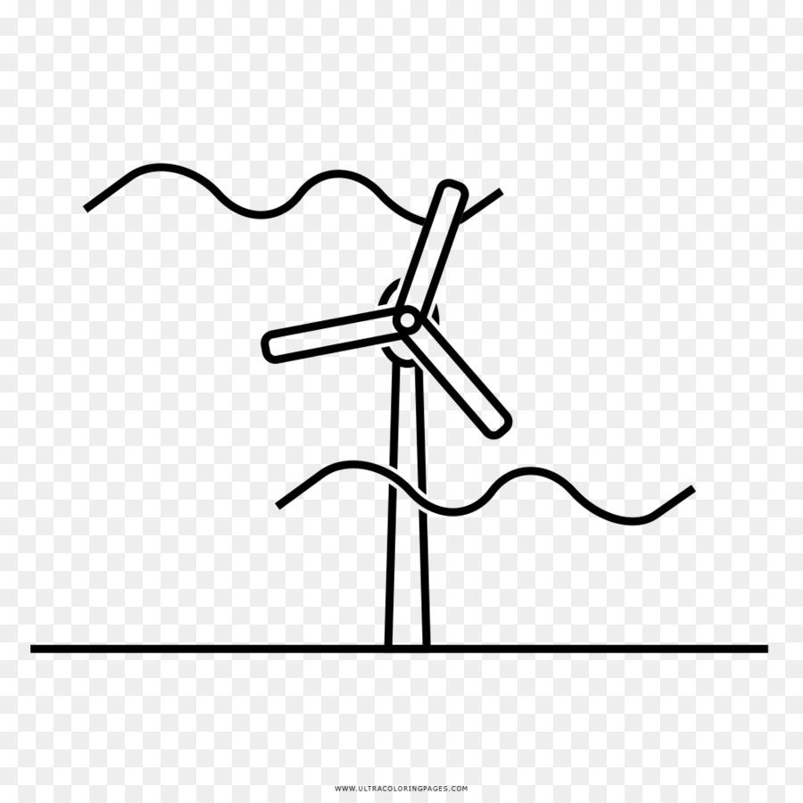 La Energía Eólica La Energía Dibujo Imagen Png Imagen
