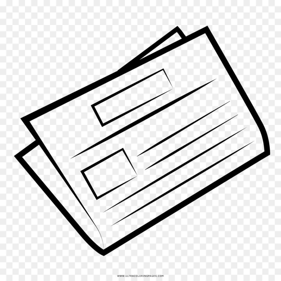 Papel Periódico Dibujo Imagen Png Imagen Transparente Descarga