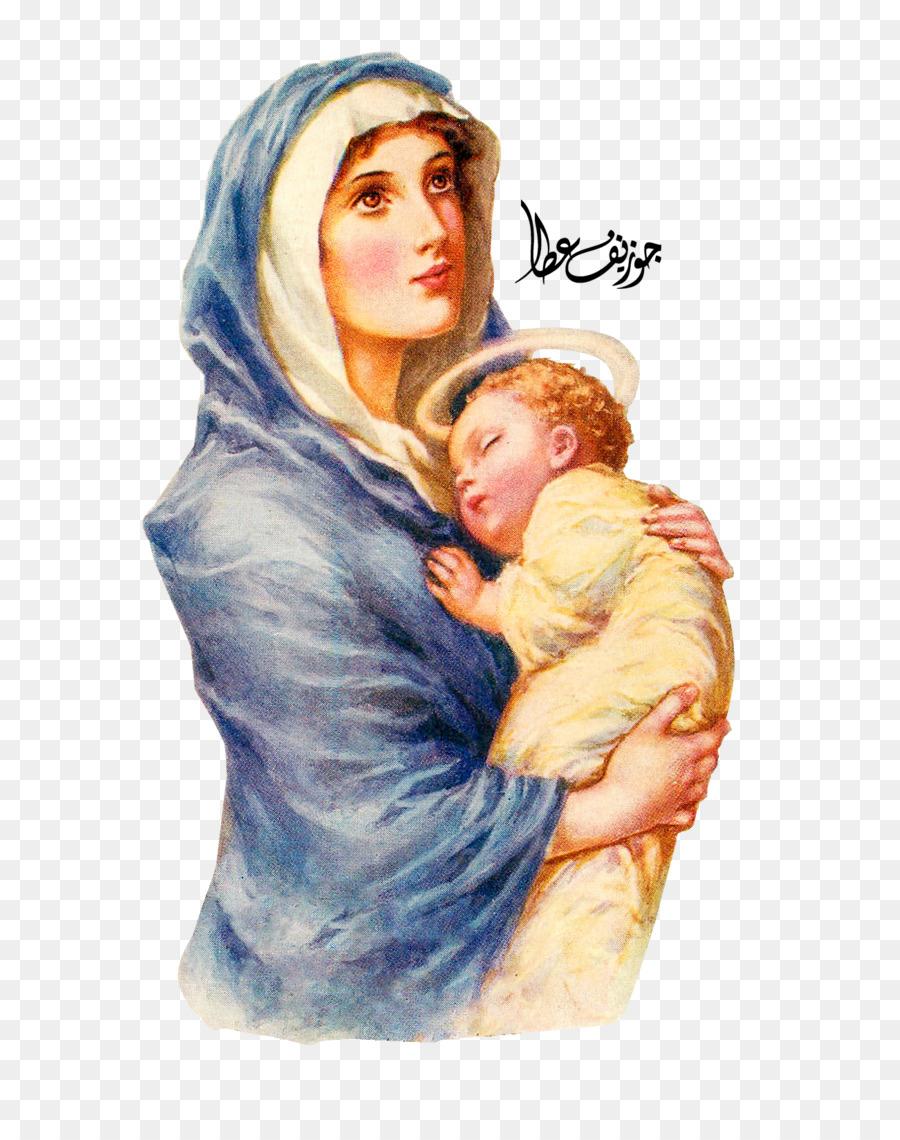 Descarga gratuita de María, Jesús, La Oración Imágen de Png