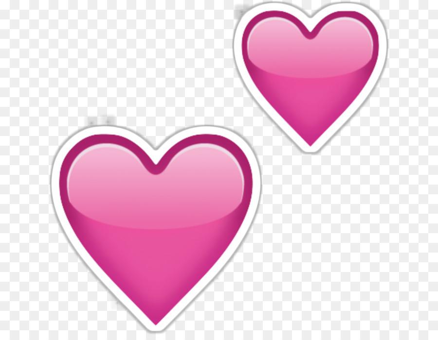 Descarga gratuita de Emoji, Etiqueta Engomada De La, Corazón Imágen de Png