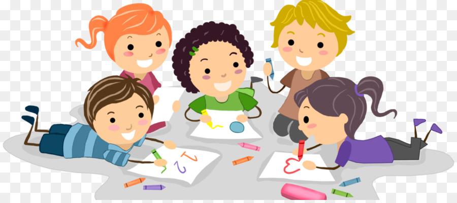 Los Niños Del Dibujo, Dibujo, Una Fotografía De Stock