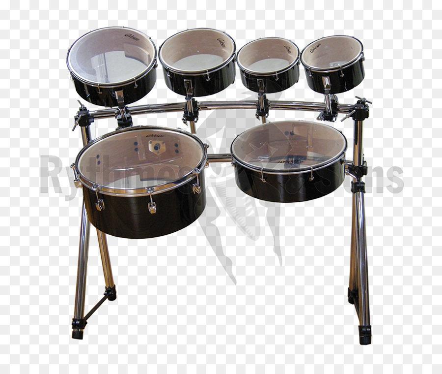 Descarga gratuita de Tomtoms, Snare Drums, Marchando Percusión imágenes PNG