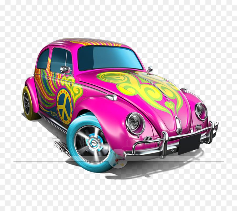 Descarga gratuita de Volkswagen Escarabajo, Coche, Hot Wheels imágenes PNG