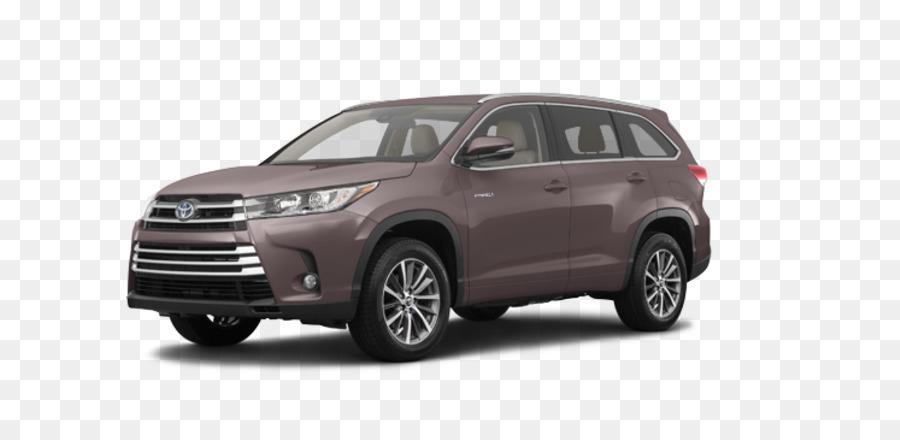 Descarga gratuita de Toyota, Coche, 2018 Toyota Highlander Hybrid Xle imágenes PNG