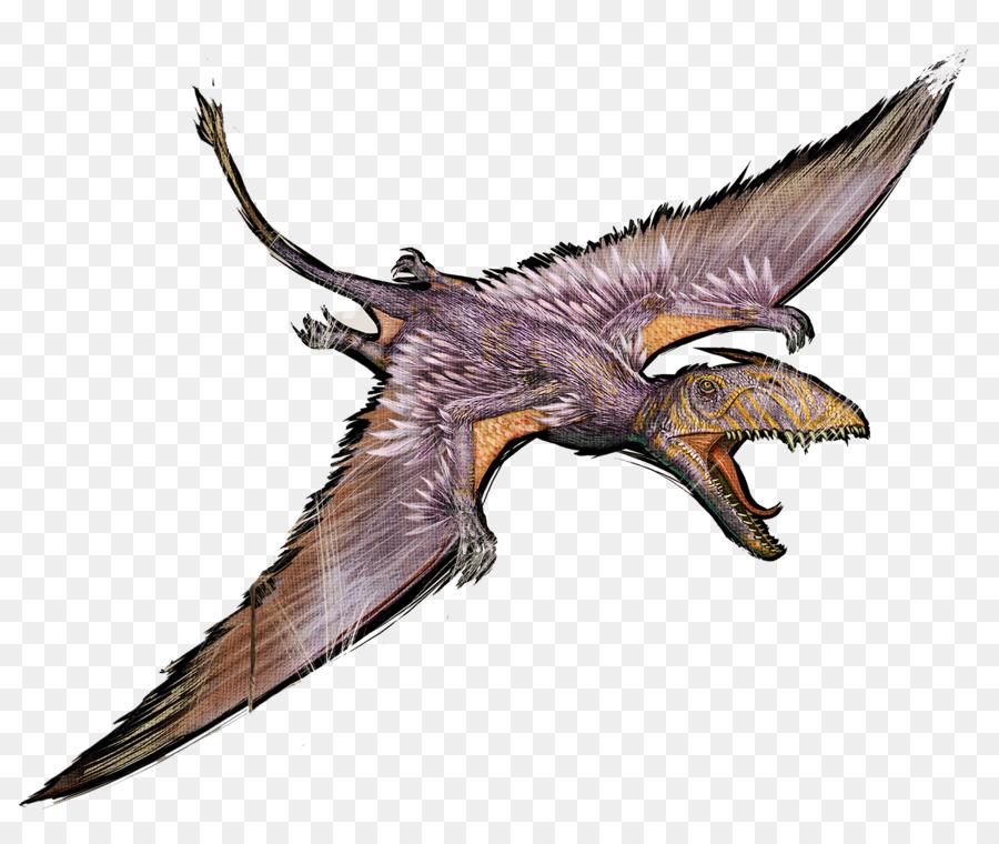 Arca De Supervivencia Evolucionado, Gallimimus, Pteranodon