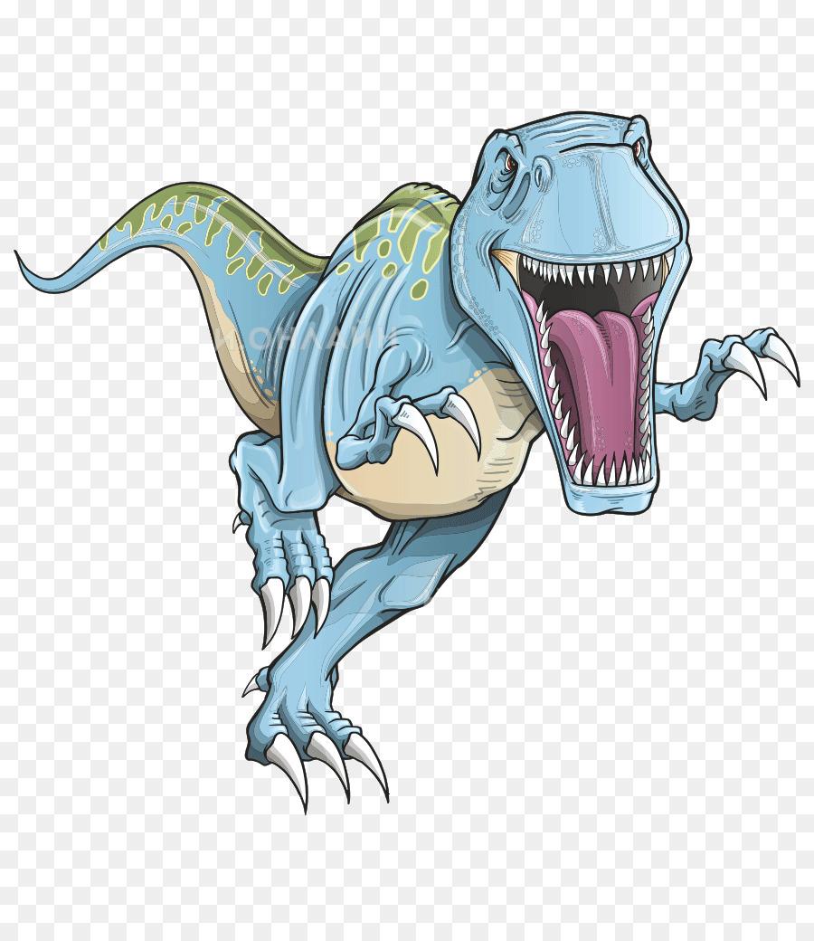 Descarga gratuita de Tyrannosaurus, Velociraptor, Dinosaurio Imágen de Png