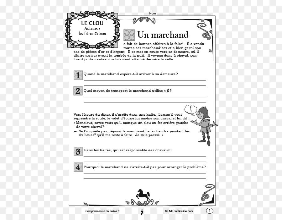 Documento Texto La Comprensión De Imagen Png Imagen