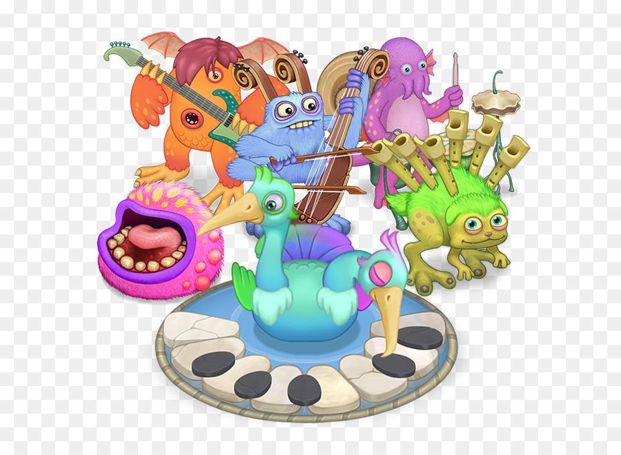 Descarga gratuita de Mi Canto Monsters, Mi Canto Monsters Dawnoffire, Big Blue Bubble Imágen de Png