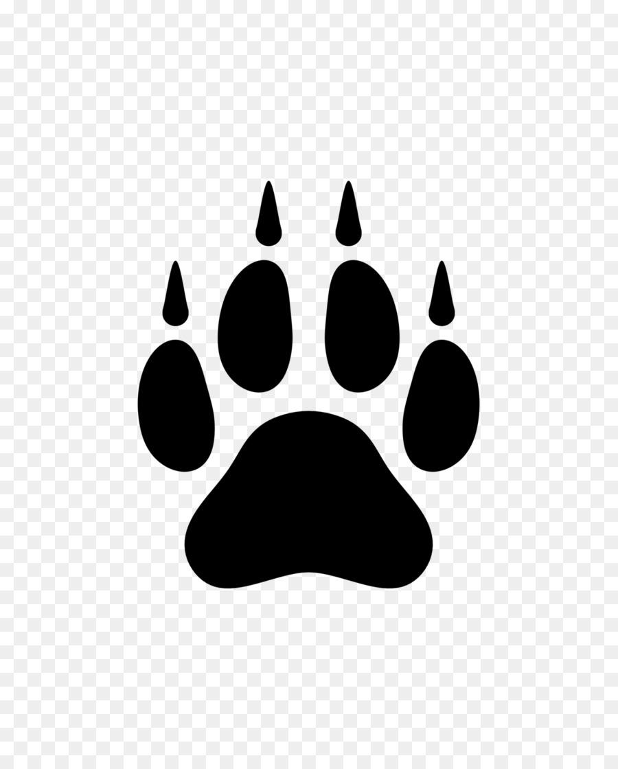 Descarga gratuita de La Pata, El Lobo ártico, Lobo Negro Imágen de Png