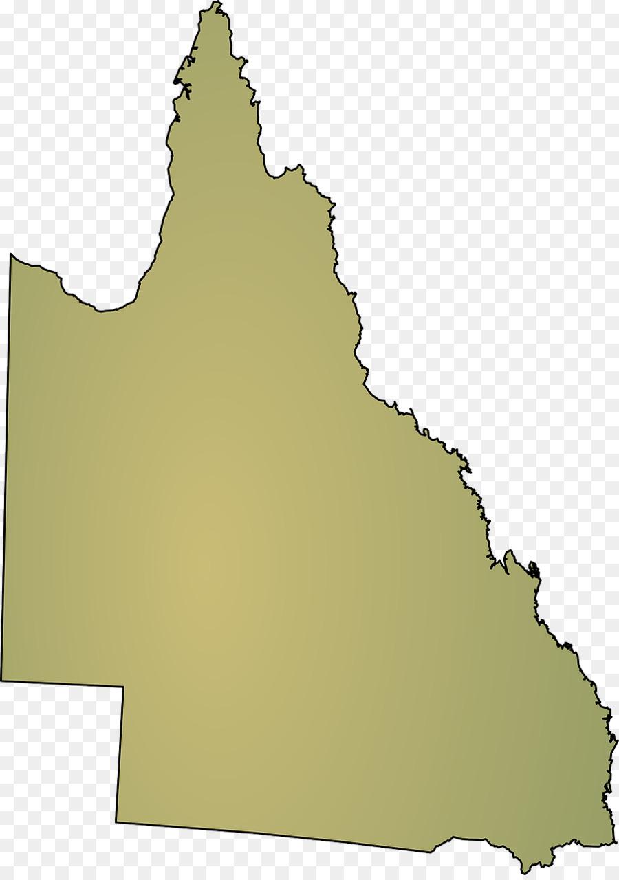 Descarga gratuita de Queensland, Mapa, Mapa En Blanco Imágen de Png