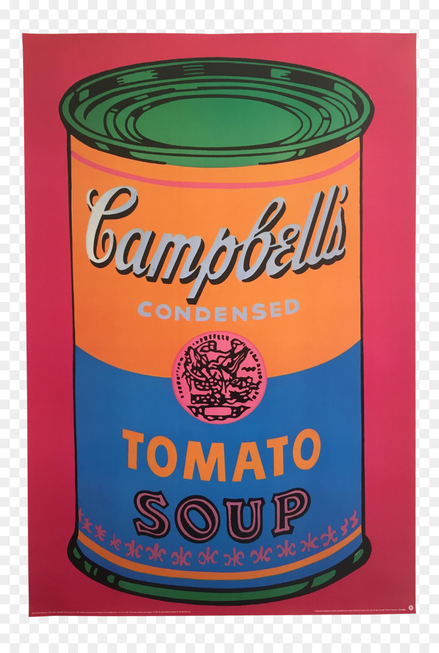 andy warhol campbell's soup - HD820×1214