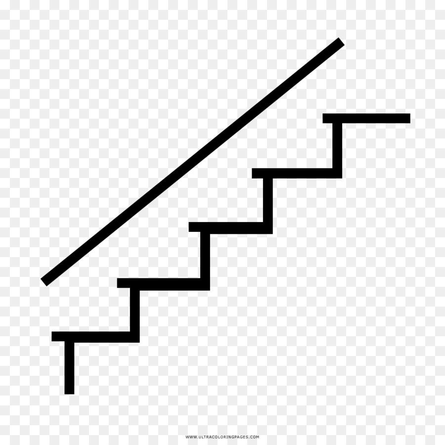 Dibujo Libro Para Colorear Escaleras Imagen Png Imagen