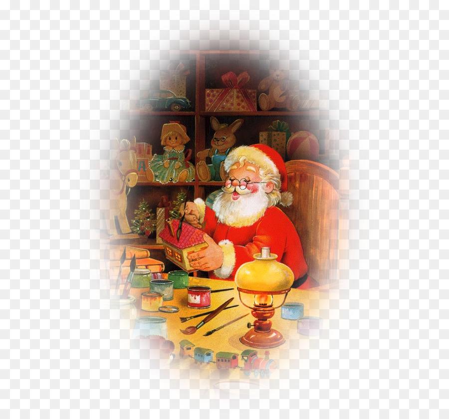 Descarga gratuita de Santa Claus, La Navidad, El Taller De Santa Claus imágenes PNG