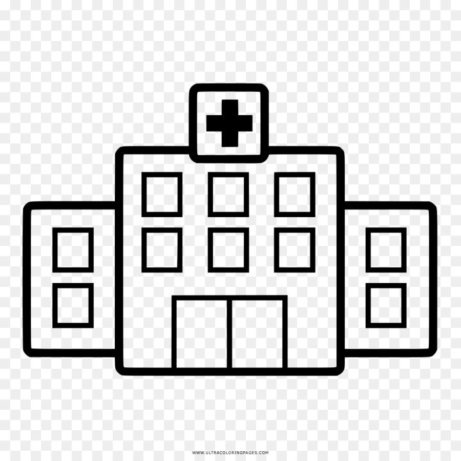 Dibujo Hospital Libro Para Colorear Imagen Png Imagen