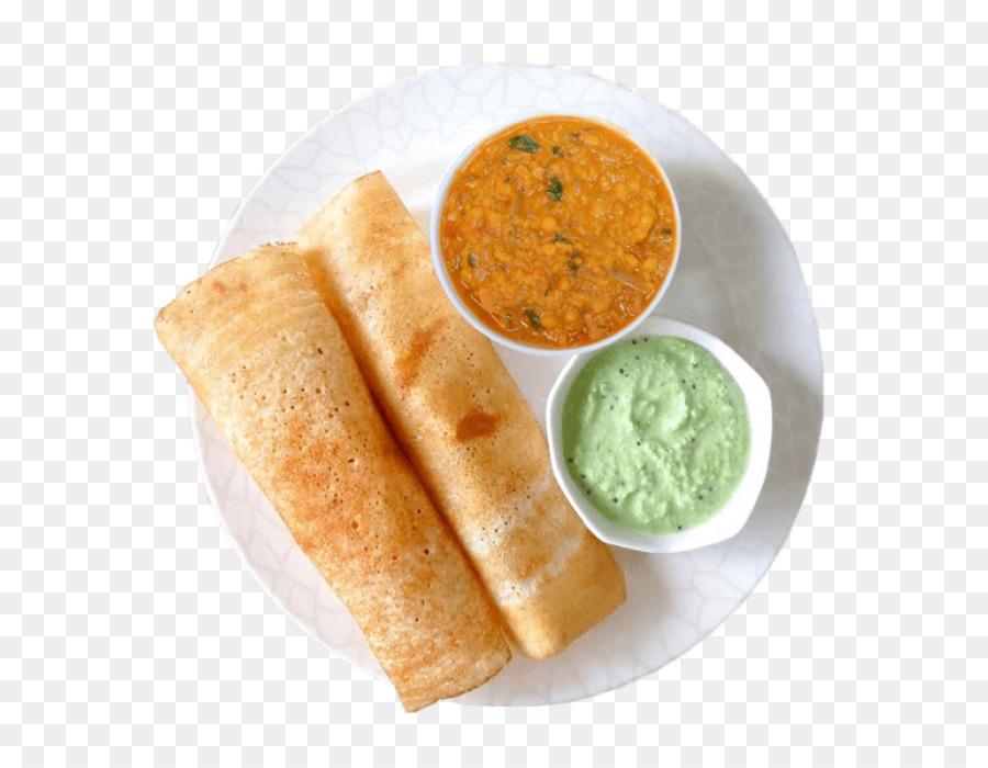 Descarga gratuita de Dosa, Chutney, La Cocina India Imágen de Png
