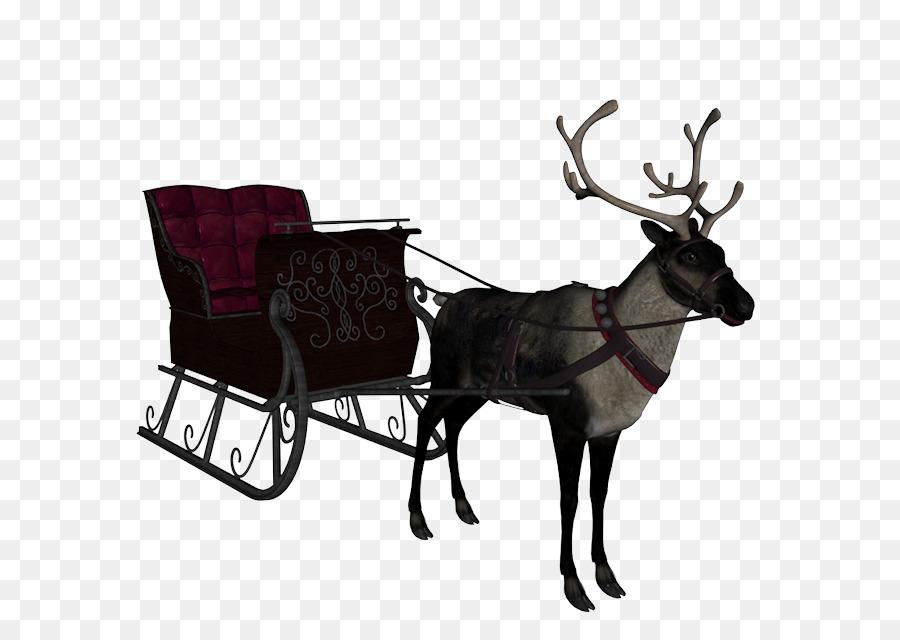 Descarga gratuita de Santa Claus, Trineo, Carro imágenes PNG