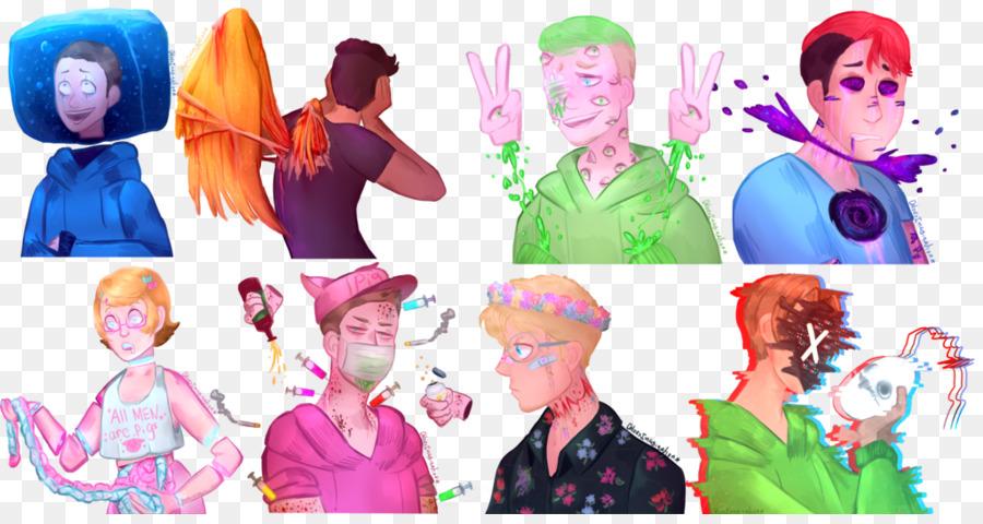 Descarga gratuita de Usuarios De Youtube, Dibujo, Fan Art Imágen de Png