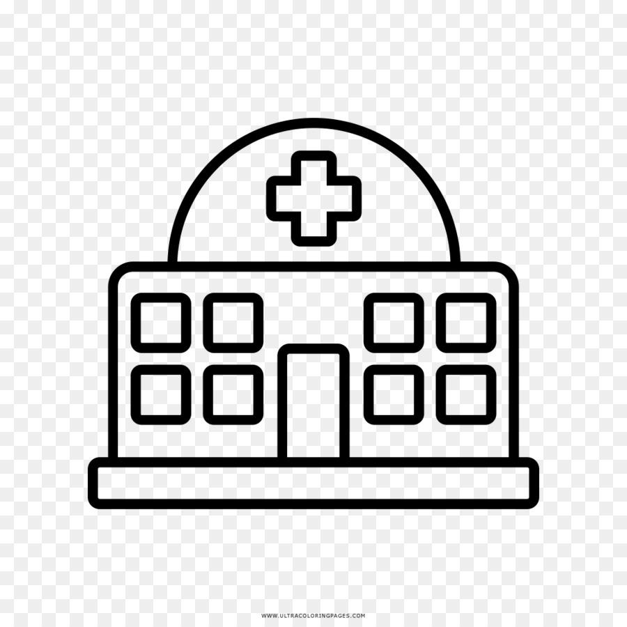 Hospital Dibujo Libro Para Colorear Imagen Png Imagen