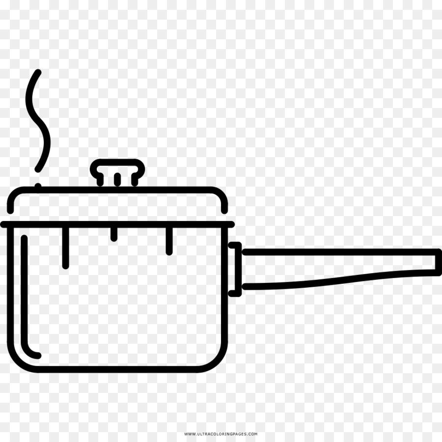 Dibujo Libro Para Colorear Utensilios De Cocina Imagen Png