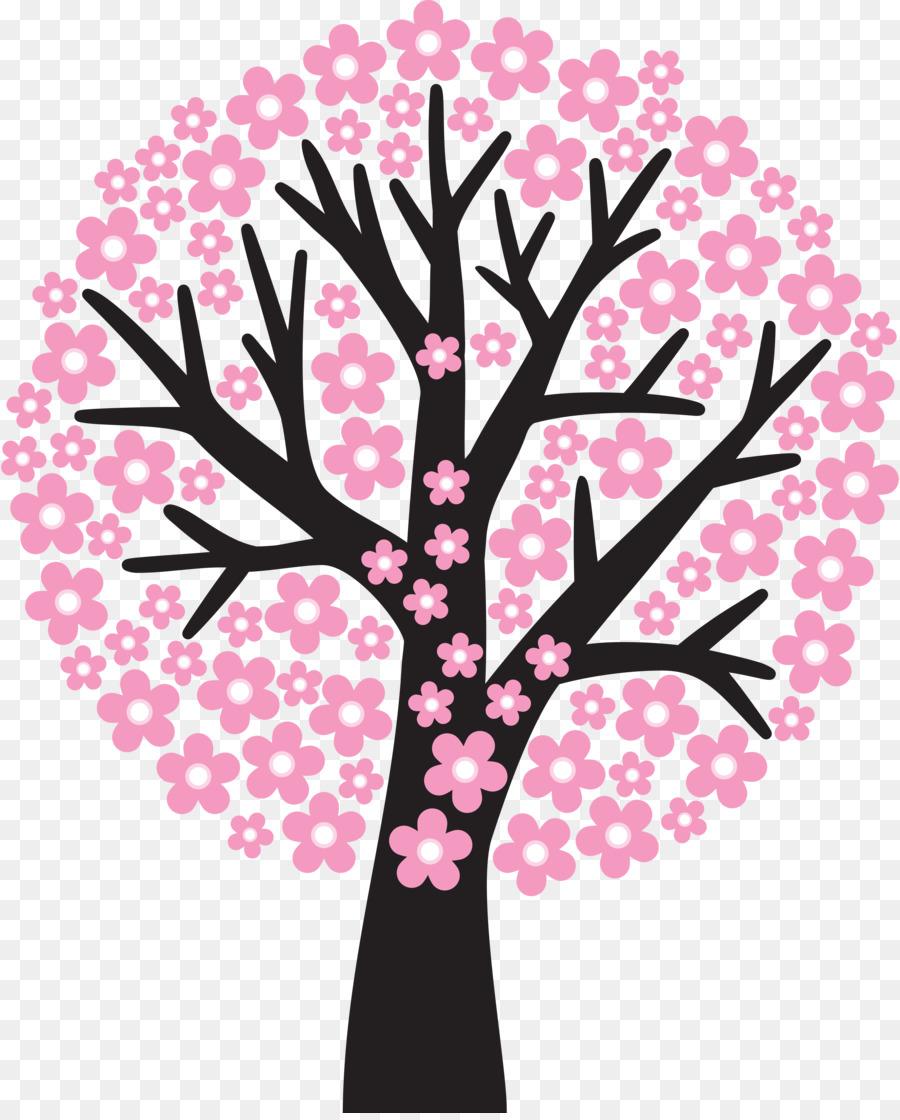 Descarga gratuita de Flor, árbol, De Los Cerezos En Flor Imágen de Png