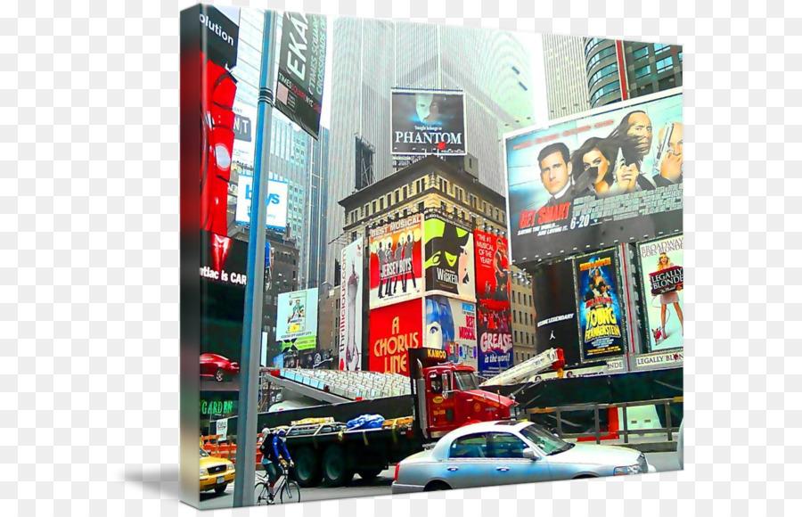 Descarga gratuita de Times Square, La Publicidad De Display, Publicidad imágenes PNG