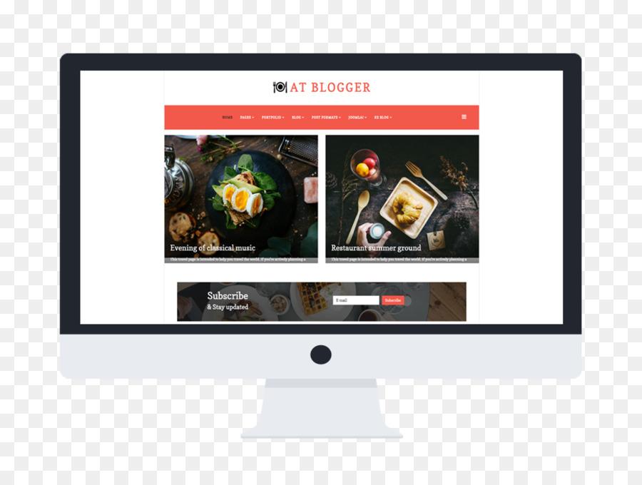 Descarga gratuita de El Diseño Web Responsivo, Blog, Plantilla imágenes PNG