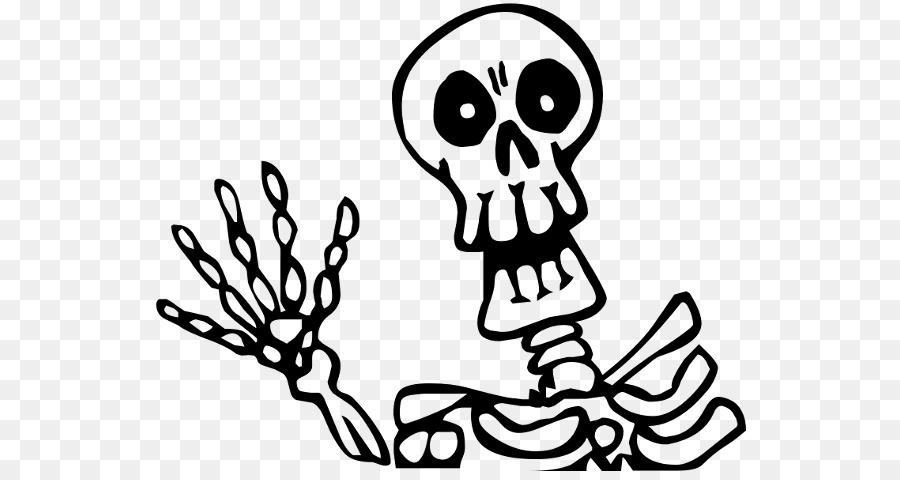 Descarga gratuita de Esqueleto, Dibujo, De Halloween De La Serie De La Película Imágen de Png