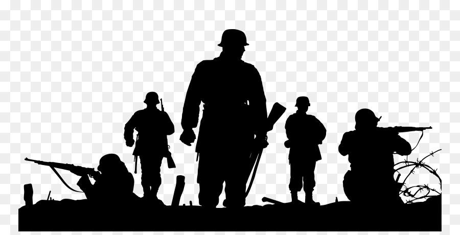 Descarga gratuita de Soldado, Silueta, La Guerra Imágen de Png