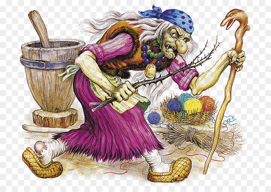 Descarga gratuita de Baba Yaga, Koschei, Una Criatura Legendaria Imágen de Png