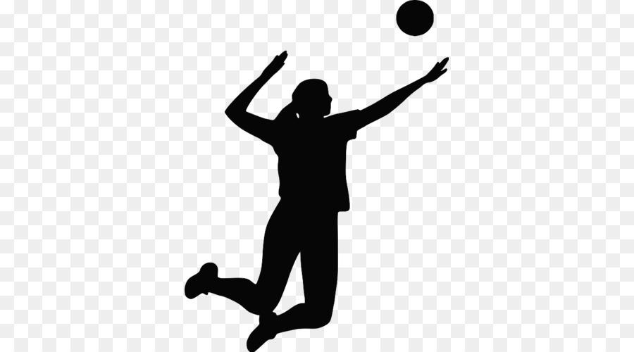 Descarga gratuita de Voleibol, Silueta, Voleibol De Playa Imágen de Png