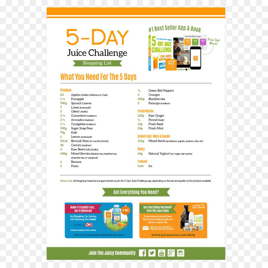 Detox dieta 5 dias