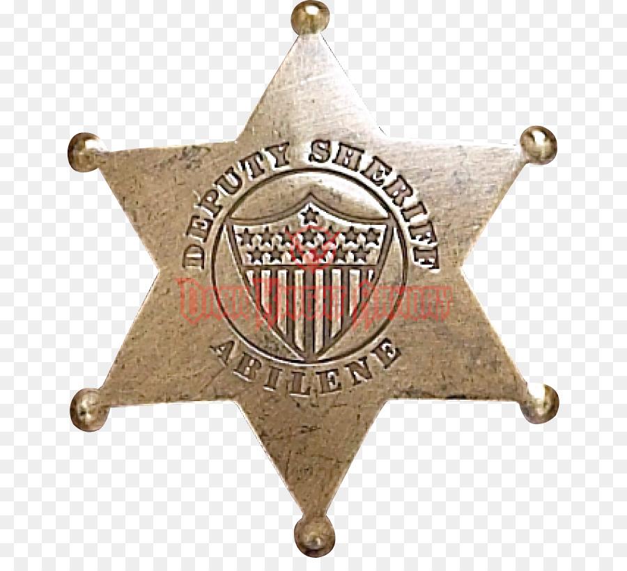 Descarga gratuita de Insignia, Sheriff, Vaquero Imágen de Png