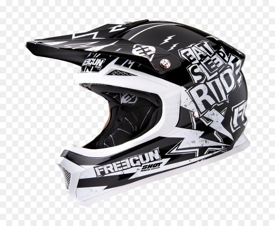Casco de motocross dirt moto   Lámina artística