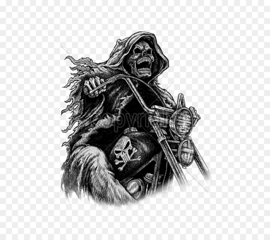 Descarga gratuita de La Muerte, Cascos De Moto, Camiseta imágenes PNG