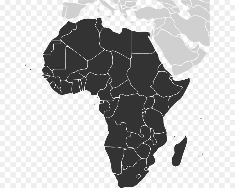 Descarga gratuita de áfrica Central, Mapa, Mapa En Blanco imágenes PNG