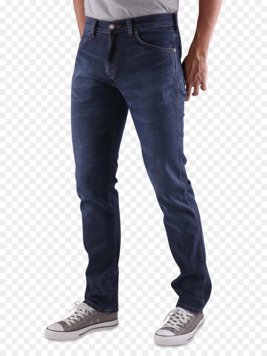 Pantalones slim fit pantalones de chándal denim, jeans PNG