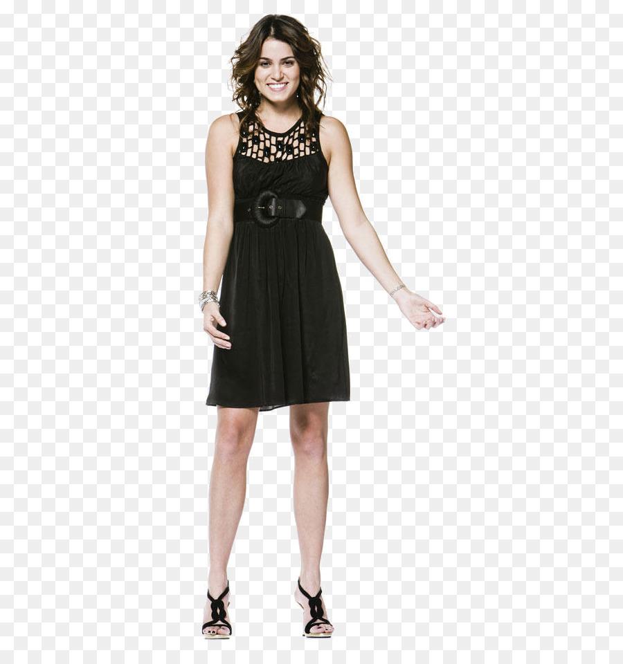 Pequeño Vestido Negro Vestido Zapato Imagen Png Imagen