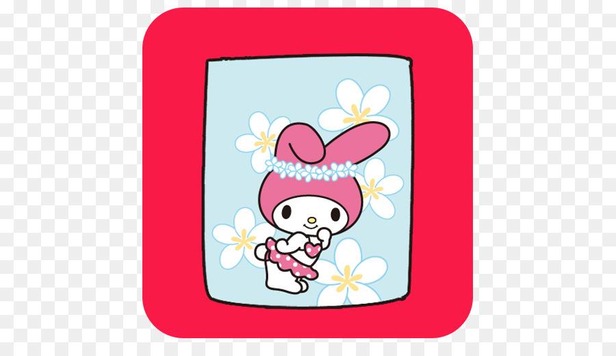 Descarga gratuita de Mi Melodía, Hello Kitty, Kuromi Imágen de Png