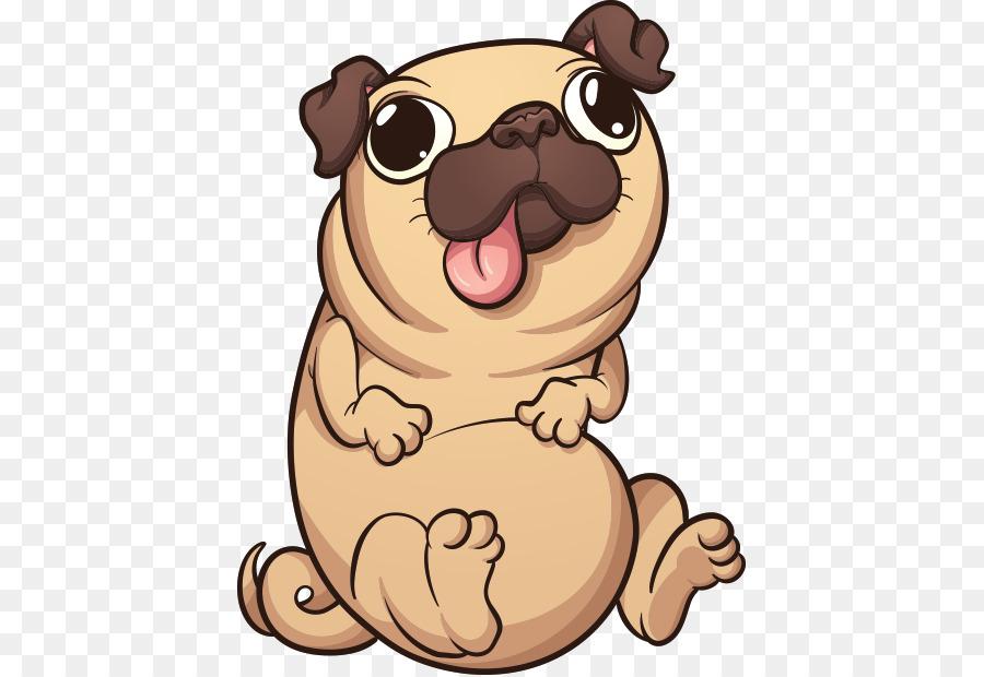 Descarga gratuita de Pug, Cachorro, Dibujo imágenes PNG