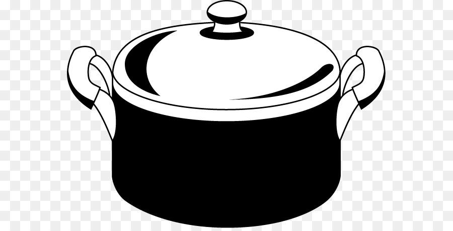 Stock Ollas En Blanco Y Negro Utensilios De Cocina Imagen Png