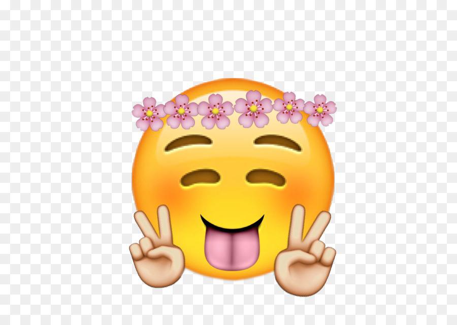 Emoji Corona Flor Imagen Png Imagen Transparente Descarga Gratuita
