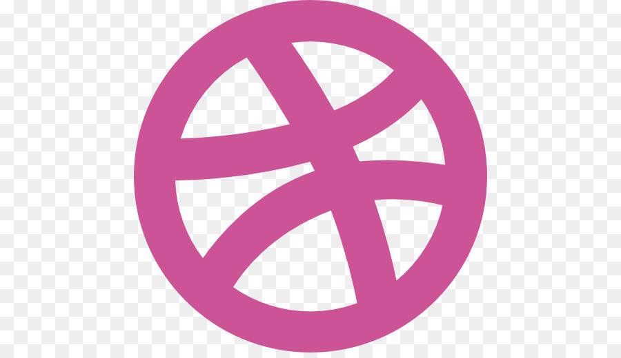 Descarga gratuita de Medios De Comunicación Social, Dribbble, Logotipo Imágen de Png