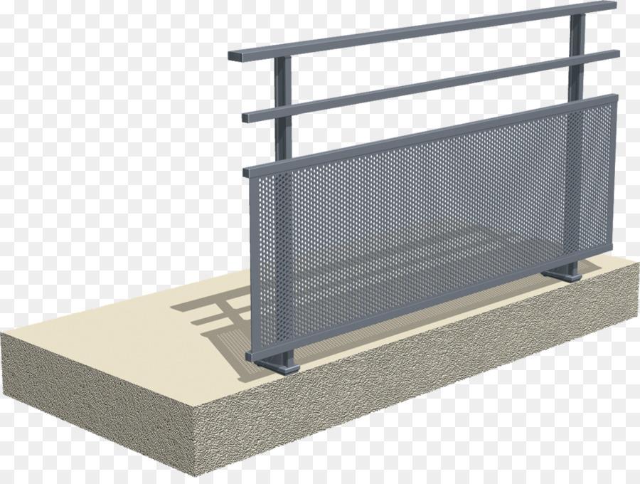 Descarga gratuita de De Aluminio, Baranda De La Terraza, Material imágenes PNG