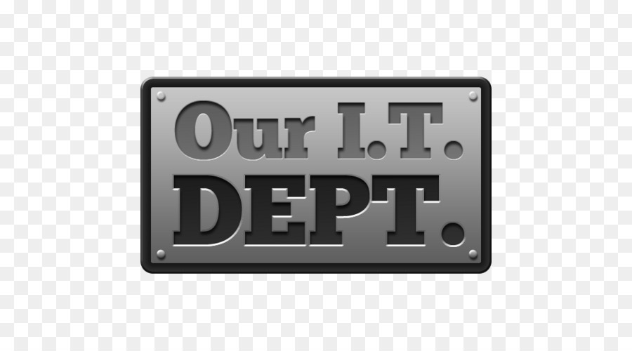 Descarga gratuita de Nuestro Departamento De It, La Tecnología De La Información, Logotipo Imágen de Png