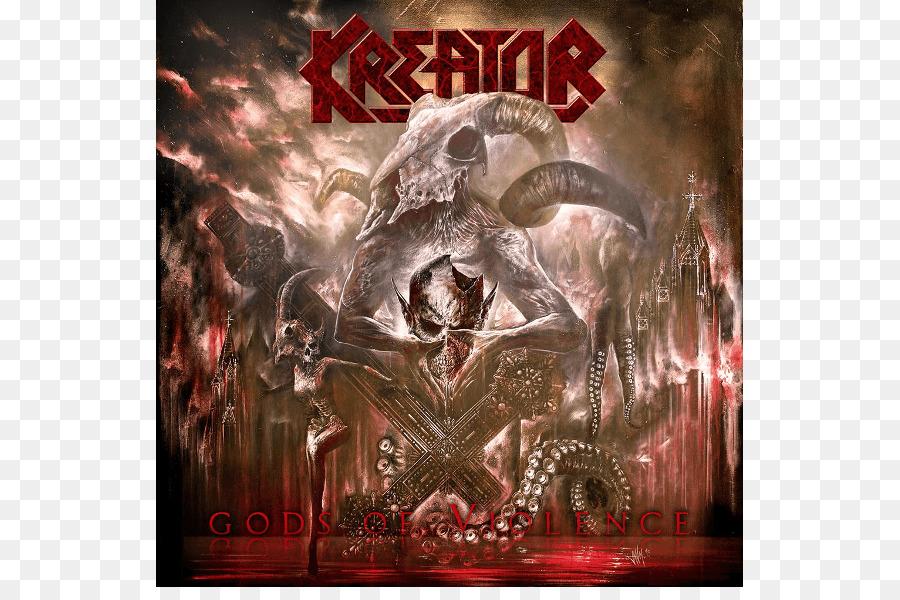 Kreator Los Dioses De La Violencia Thrash Metal Imagen Png