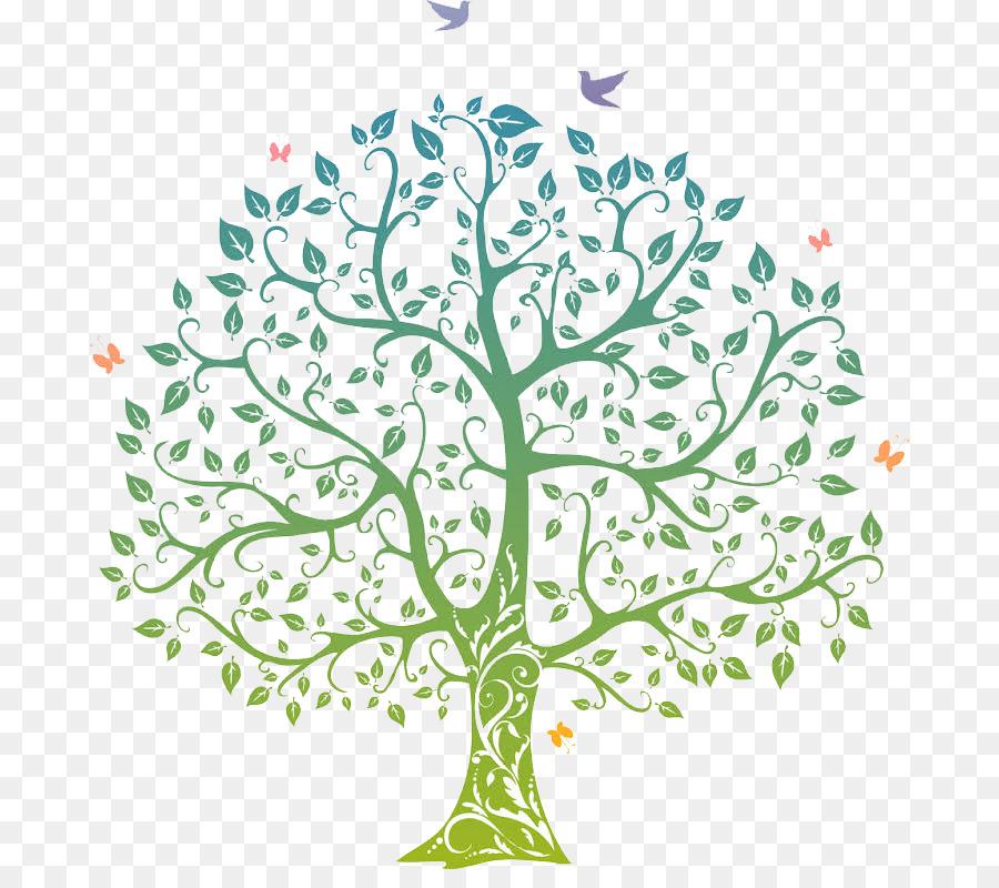 árbol De La Vida La Visión De Clip Art árbol