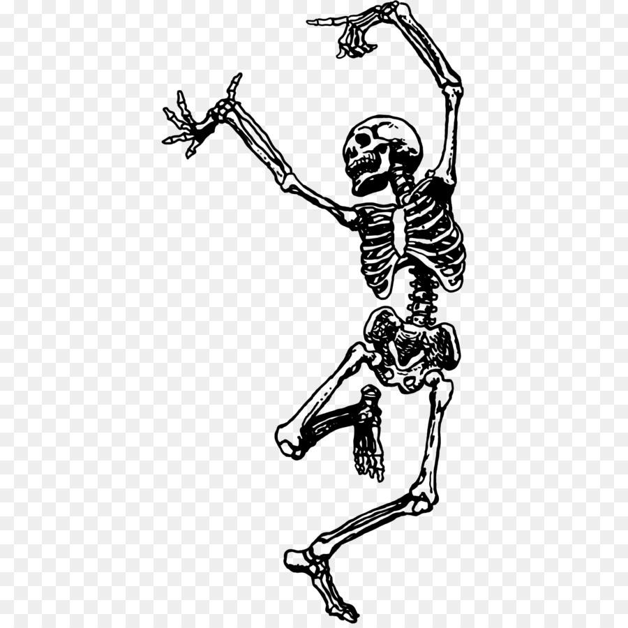 Descarga gratuita de Esqueleto, La Danza, Dibujo Imágen de Png