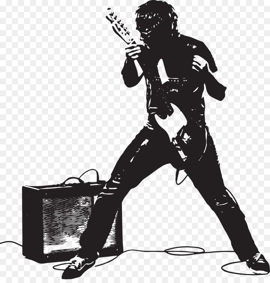 Descarga gratuita de Guitarra, Pink Floyd, Silueta Imágen de Png