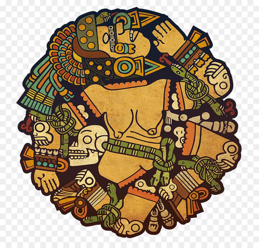 Piedra Del Calendario Azteca, Coyolxauhqui, La Civilización Maya imagen png - imagen transparente descarga gratuita
