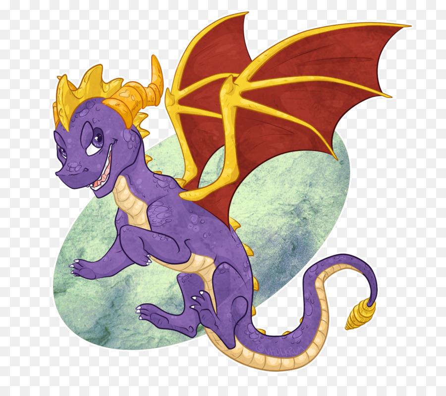 Descarga gratuita de Dragón, Spyro El Dragón, Cynder Imágen de Png